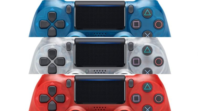 Sony Reveals New Translucent Dualshock 4 Controllers In Three Colors 4