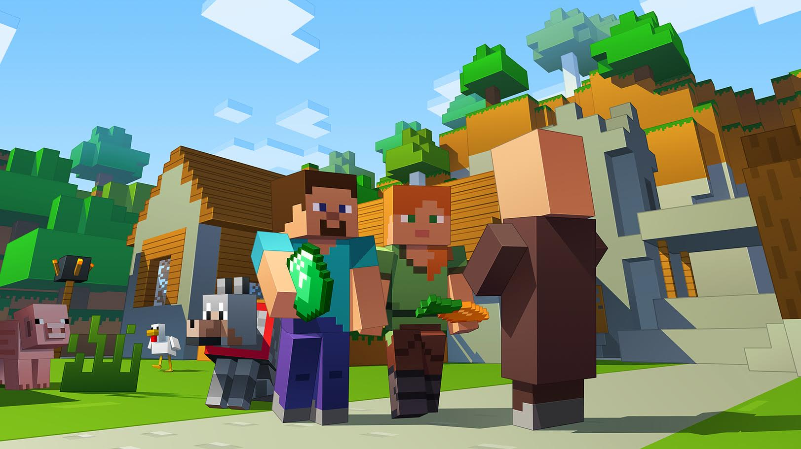 "Minecraft's New Update ""Better Together"" Now Out on PC, Xbox One and Mobile; Enables Cross-Play"