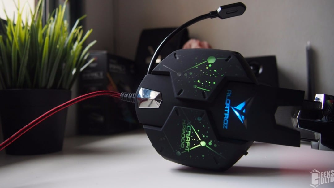 Alcatroz XCraft HP2000 2.1 Gaming Headset Review