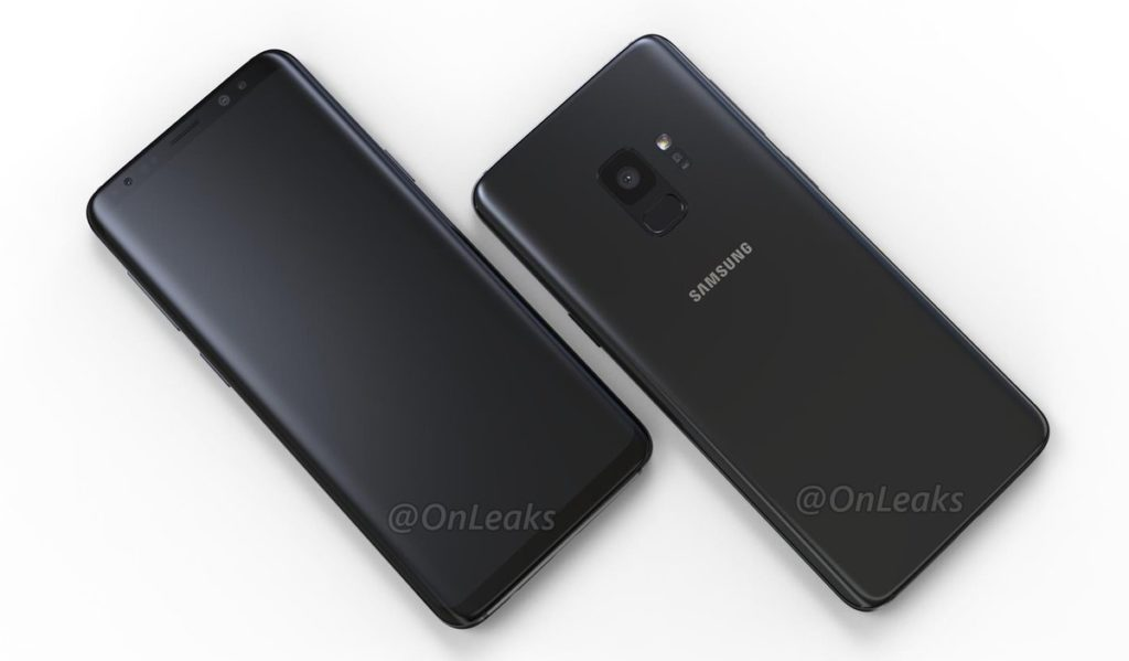 Samsung Galaxy S9 OnLeaks Render Black Images Leak