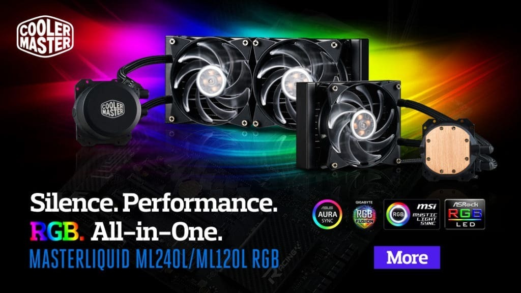 Cooler Master MasterLiquid RGB 120 240 ML
