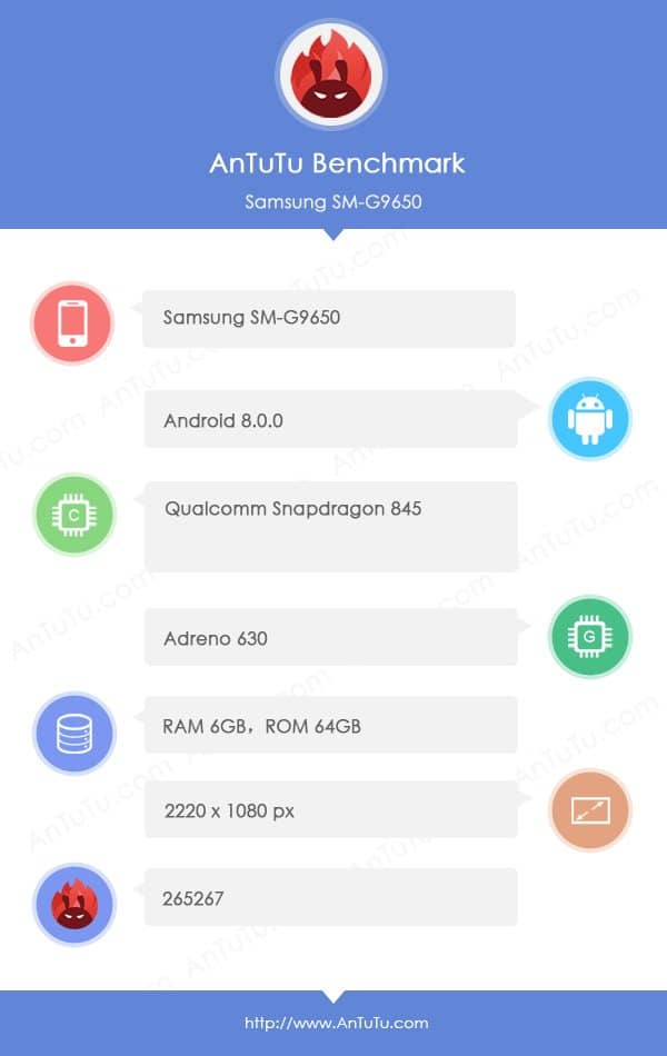 Samsung's Galaxy S9 Finally Ends Up On Antutu, Teases 6GB of RAM 3