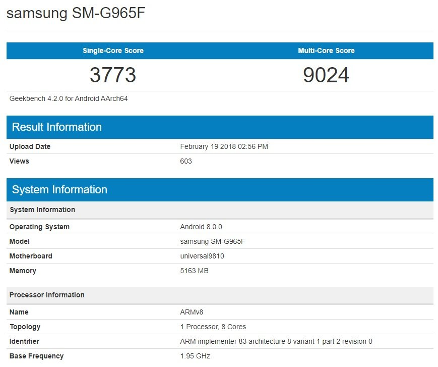 The Exynos 9810 Galaxy S9+ Is Actually 40% Faster Than Its Predecessors 5