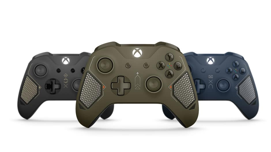 Microsoft Releases Combat Tech Special Edition Xbox Wireless Controller 4