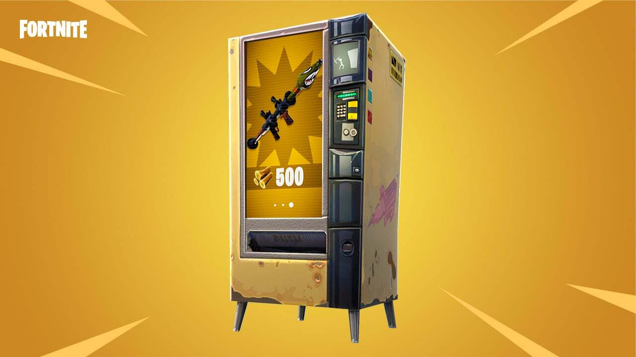 Fortnite Content No Longer Need Massive Updates With v3.4, Adds A Vending Machine Too 4